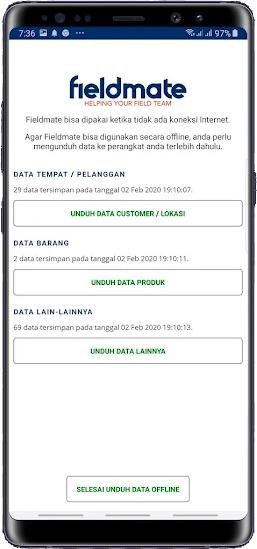 Aplikasi Sales Lapangan Fieldmate dengan Offline Feature